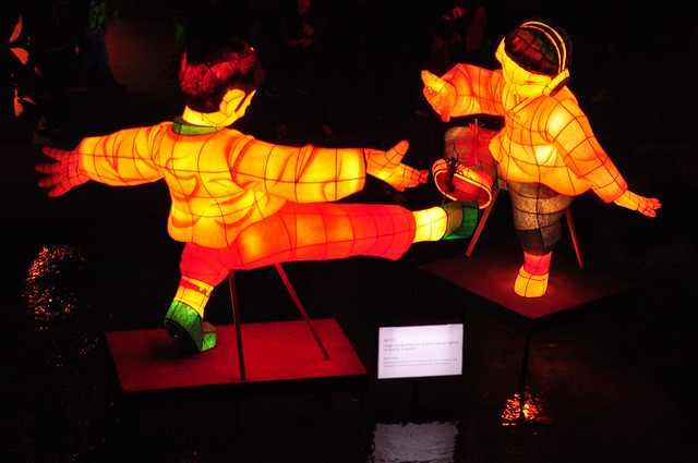 Martial Arts at the Seoul Lantern Festival