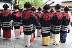 Happi (Teruhide Tomori) Tags: japan kyoto maiko geiko    gion firefightingtraining