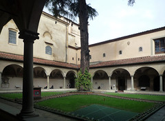 Michelozzo, Cloister, San Marco