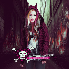 The Best Damn Thing - Avril Lavigne (Strangers23) Tags: pink hot skull star holding girlfriend punk thing style best gone your cover when innocence damn keep avril lavigne tbdt strangers23