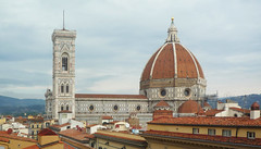 Duomo and Campanile for Uffizi, Florence