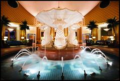 The Dolphin Lobby (Jeff_B.) Tags: fountain modern hotel design swan postmodern dolphin disney graves resort lobby disneyworld sheraton westin whimsical michaelgraves spg lapidus interiordesing swananddolphin dolphinfountain alanlapidus