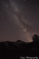 Up High Under The Milky Way (Coop Photography) Tags: summer two mountain lake night oregon river way lens stars photography star mirror nikon long exposure eagle 26 or north lakes trails peaceful fork august basin east tokina trail cap 25 valley coop pan 28 wilderness 27 milky f28 2011 d90 lostine 1116mm