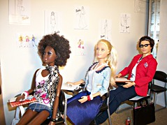 Fashion School Dropout (Dia 777) Tags: fashion design dolls ken skipper class alvinailey stardoll studens mbili sportyfashionista dia777 fashionfeverhairshop