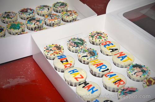 cupcakes ben10