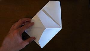 紙鉄砲を作る9