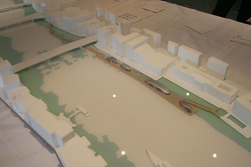 Model of the proposed London River Park