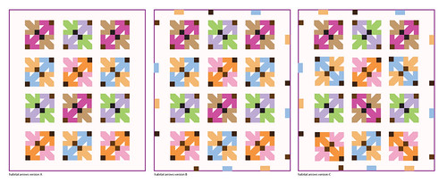 Habitat Arrows Quilt Vote