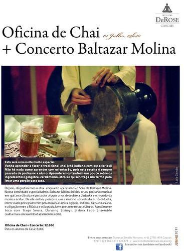 concerto Baltazar Molina em Cascais
