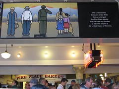 Japanese American internment mural