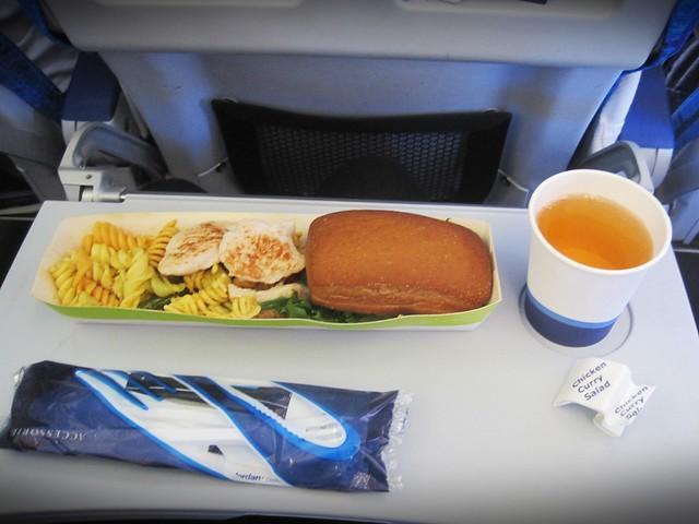 lentokoneenruokaa