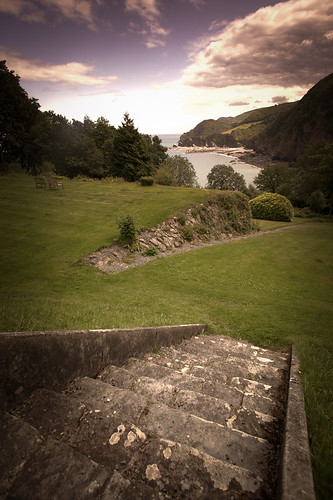 485/1000 - Looking down to Woody Bay 2 by Mark Carline
