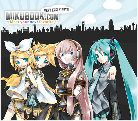Crypton Opens Mikubook Social Media Site for Vocaloid Fans