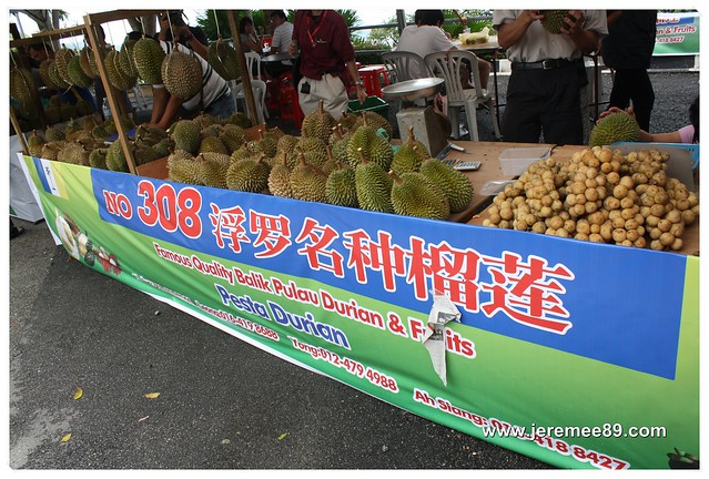 Pesta Durian @ Balik Pulau - 308 Durian Estate 2