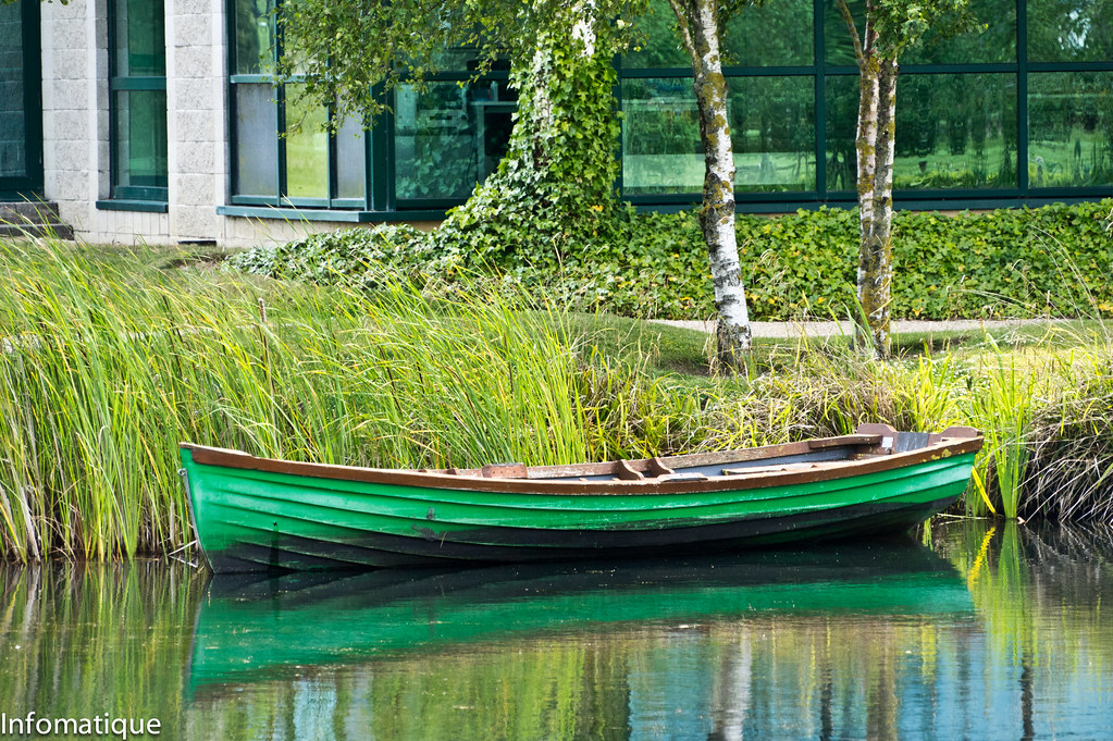 I Got The Luas Tram To Citywest And Then I Photographed A Little Boat
