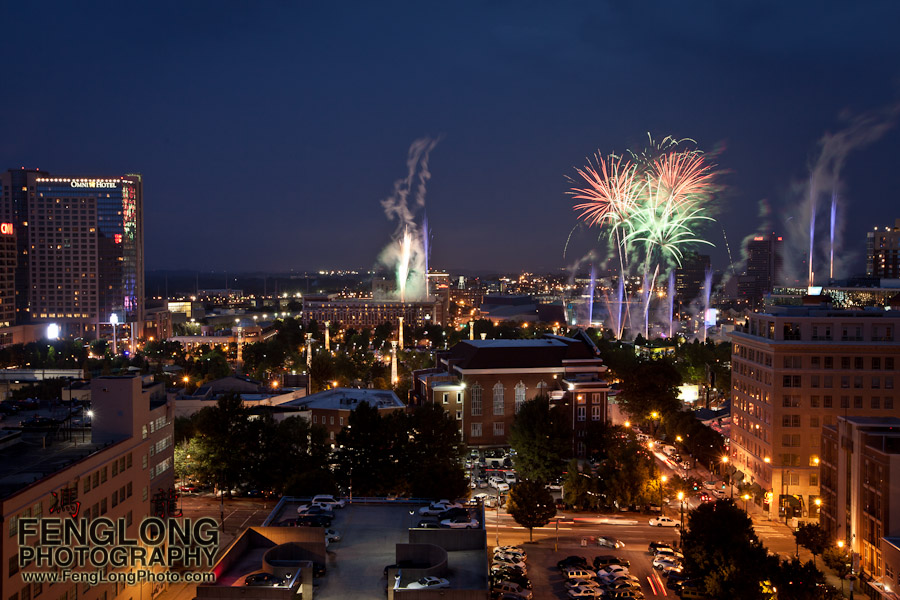 Fourth of July Fireworks at Centennial Olympic Park 2011