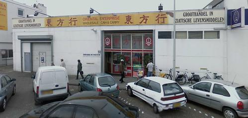 Oriental groothandel, Amsterdam Duivendrecht