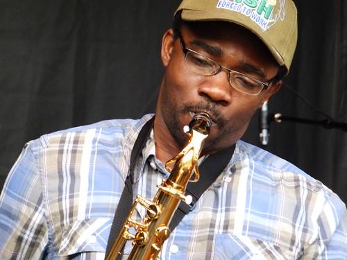 Elage Mbaye at Bluesfest