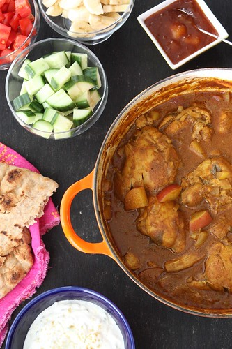 My mum's chicken potato curry recipe is a favorite with all of our family and friends. Easy to make and insanely delicious! #curry #chicken