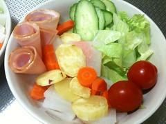 朝食サラダ(2011/10/5)