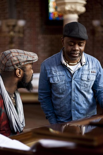 Nduduzo Henry Makhathini and Raymond Sereba