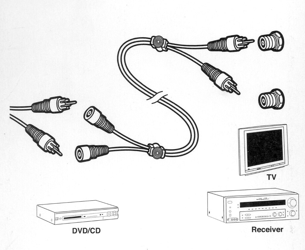 extension cable, instructional drawing