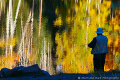 The Fisherman (Aspenbreeze) Tags: lake man fall nature water fishing fisherman pond line flyfishing hook grandmesa atumn sinker fallseason waterripple shorefishing blueksy coloraod grandmesacolorado platueau aspenbreeze elitegalleryaoi highaltitutde flickrstruereflection1 topphotospots tpslandscape