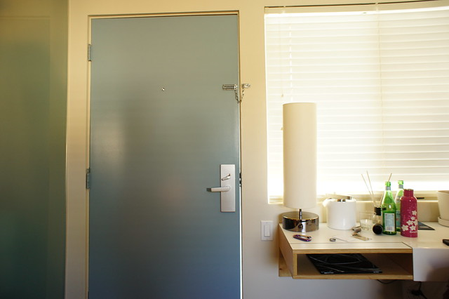 Pearl Hotel - room door