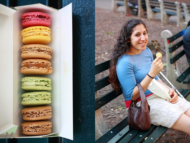 Laduree Macarons in NYC with Joanne