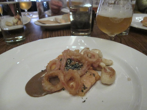 Brooklyn Brewery Beer Dinner at Haute Dish