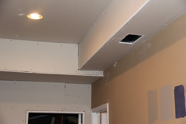 Basement Updates: Electrical & Sheetrock... Check