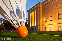 World's Largest (john4kc) Tags: sculpture art museum kansascity nelsonatkins shuttlecock