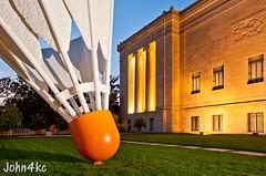 World's Largest (john4kc) Tags: sculpture art museum kansascity nelsonatkins shuttlecock