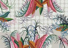 121011 (lorakravt) Tags: abstract flower color art look fashion illustration vintage design fan watch style pop textile concept decor vector