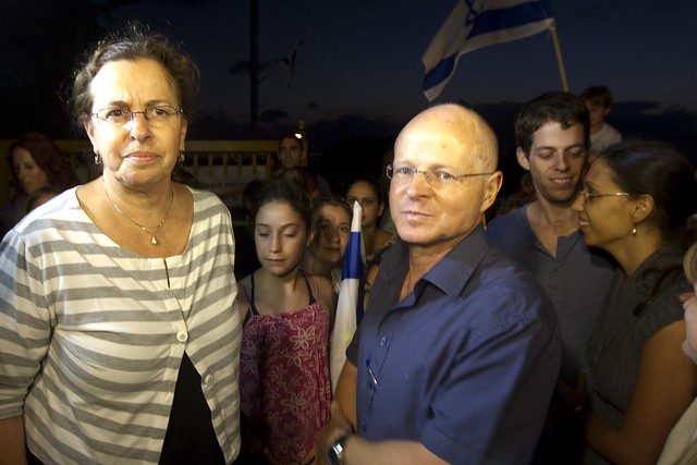 Shalit's Parents Return Home