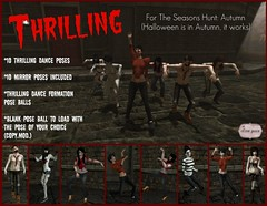 Thrilling Ad for The Seasons Hunt (IsabellaGrace Baroque (Bella)) Tags: autumn fall halloween theseasonshunt