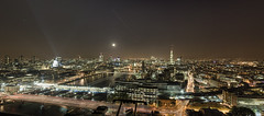 i love London (odin's_raven) Tags: city bridge urban london tower thames night cityscape rooftops shot pano exploring explorer stpauls belfast panoramic wharf blackfriars canary shard gherkin hdr ue hms urbex ldn talkurbex