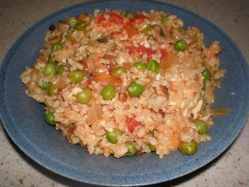 Cheesy Rice Savoury