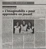 Article de presse Imaginabilis
