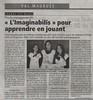 Article de presse Imaginabilis