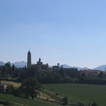 "The Apiro (pop. 1000) skyline<a href=""http://farm7.static.flickr.com/6060/6254076923_7dd9831d60_o.jpg"" title=""High res"">∝</a>"