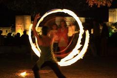 Fuego en San Nicols. Yo (Mirta Mingorance) Tags: hoop san hula nicolas granada fuego crculo malabares aro geometra albaycn