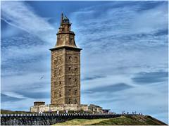 2310-Torre de Hercules (jl.cernadas) Tags: espaa faro spain corua europa europe torre galicia galiza acorua lacorua torredehercules parquedatorre