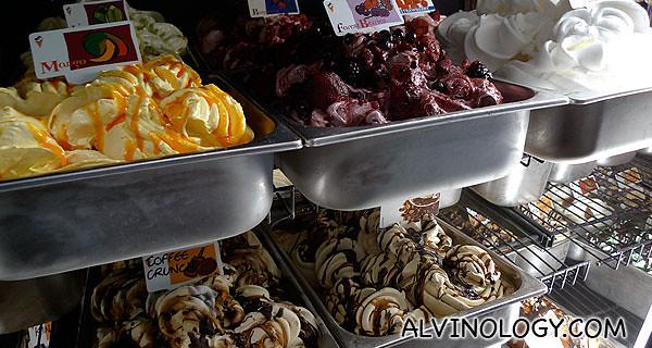 Fresh Gelato ice cream