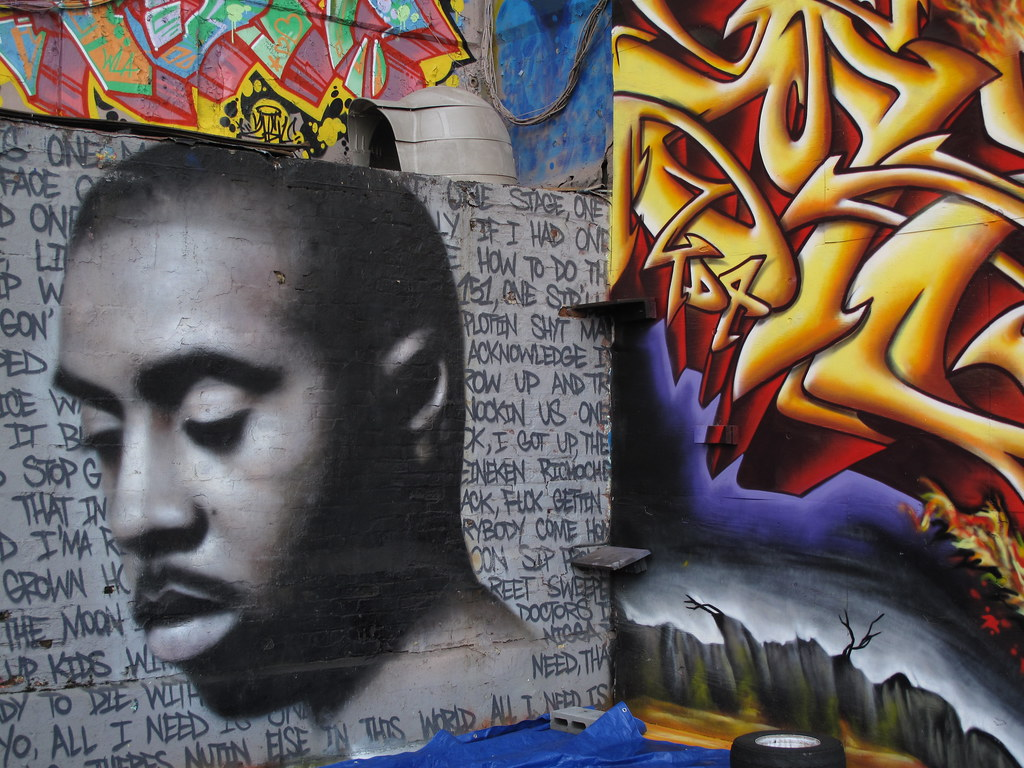 The world 39 s most recently posted photos of tagging and for Nas mural queens