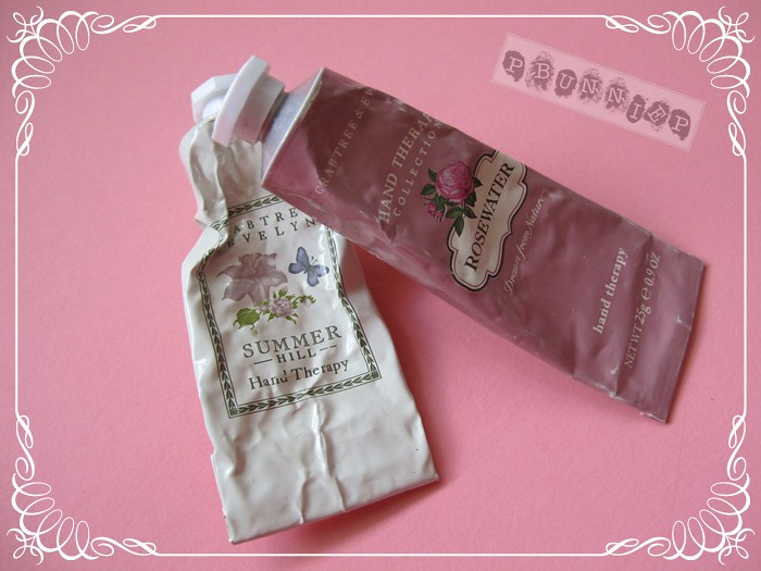 Crabtree & Evelyn hand cream