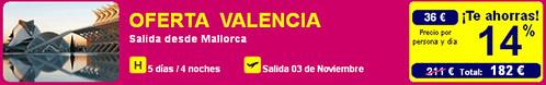 Oferta Gran Premio de Valencia