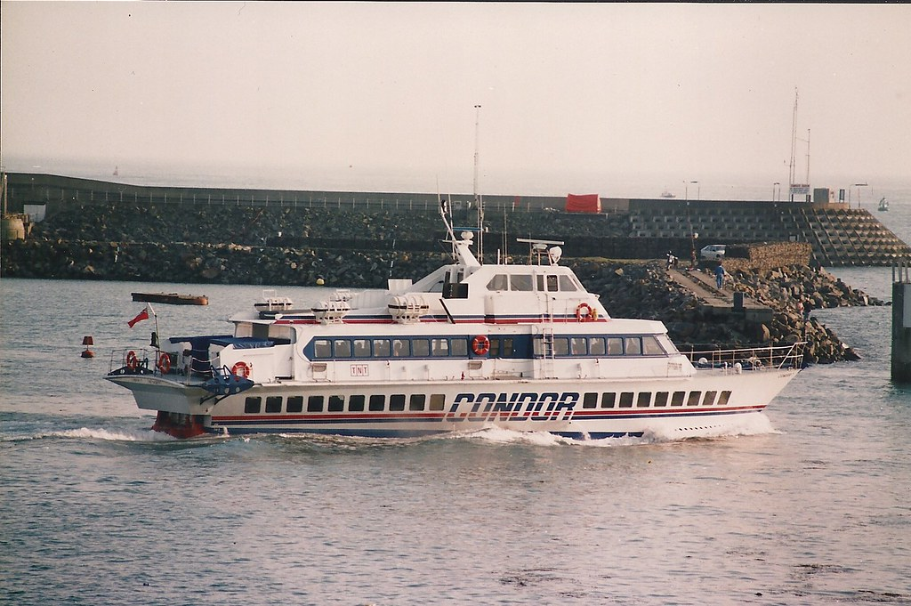Ferry From St Malo To Jersey Island