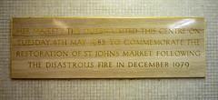 Photo of Elizabeth II stone plaque