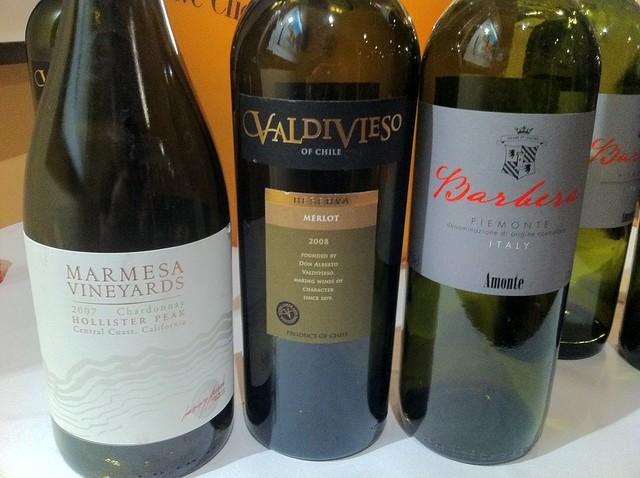 wines at malmaison